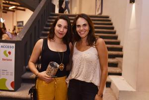 Andrea Salazar y Liliana Martínez