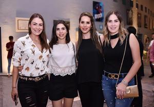 Bárbara, Karla, Laura y Ale