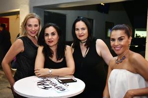 Elisa, Ana, Gaby y Marcia
