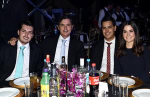 Alberto, Ramón, José y Luisa
