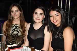 Clara, Regina y Melisa