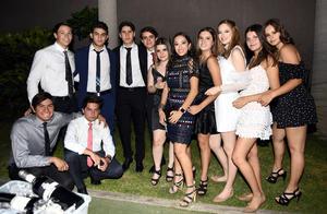 Omar, Arturo, Rosario, David, Matías, Cristina, Paola, Luly, Bárbara y Marifer