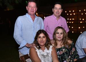 Jaime, Marcela, Bárbara y Jaime