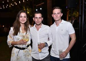 Lorena, Alberto y Fernando