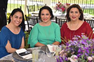 Leonor, Alejandra y Gabriela