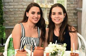 Ale Amezcua y Ángela Mourey