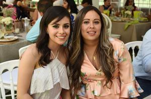 Lorena Serna y Samantha Duarte