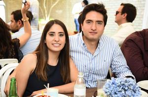 Pamela González y Luis Burciaga