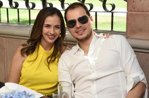 Pamela Murra y Luis Jorge