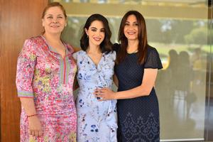 Patricia Aguirre, Ana Cris y Patricia Garza