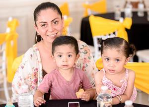 Andrea, Catalina y Rafita Rodríguez