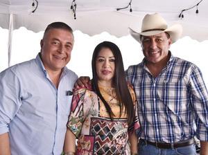 Alejandro Ayup, Pepis Villalobos y Juan Carlos Ayup
