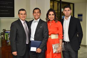 Arnoldo, Juan Pablo, Leyda y Arnoldo