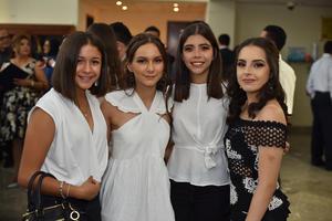 Hannah, Katee, Sofía y Gretel