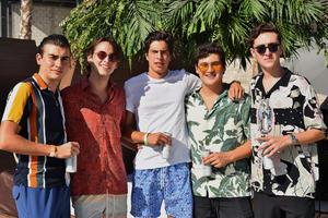 Daniel, Juanpis, Mauricio, Jaime y Oso