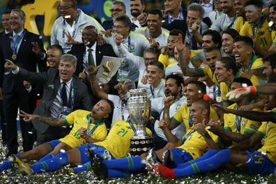 Brasil se queda en casa con la Copa América