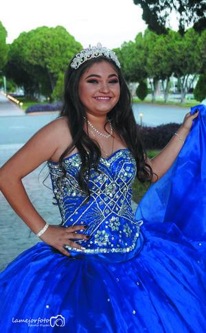 07072019 Andrea del Rosario Sifuentes Valdez celebró sus XV años el pasado 15 de junio, acompañada de sus padres: Pablo Enrique Sifuentes y Marisol Valdez.- La Mejor Foto