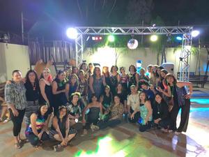 08072019 DIVERTIDO FESTEJO.  Marian de la Fuente de Reyes celebró su cumpleaños en compañía de familiares y amistades, quienes se la pasaron de lo mejor bailando y cantando toda la noche.
