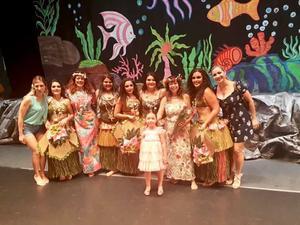 06072019 DESTACADA PARTICIPACIóN.  En el Teatro Isauro Martínez, se realizó el Festival anual de danzas polinesias de la Academia Lei Lani, dirigida por Claudia Gaytán de Franco.