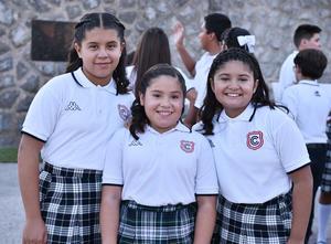 08072019 Estívalis Urbina, Mía Tovalín y Danna Salas.