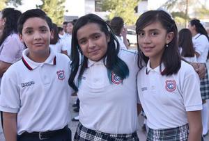 08072019 Diego García, Sofía Guadalupe Enríquez y Abril Domínguez.