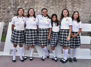 08072019 Ivanna González, Romina Arratia, Meredit Bustos, Nataly Coss, Sofía Dávila e Irma Cázares.
