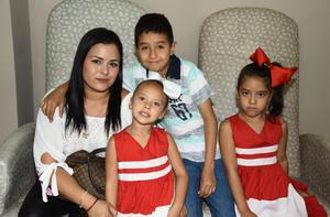 09072019 Lucero, Natalia, Lucía y Matías.