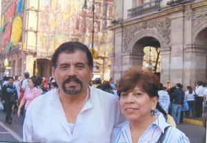 09072019 45 AñOS DE AMOR.  Julián y Martha González Garza festejaron 45 años de casados. La pareja contrajo matrimonio el 20 de junio de 1974 en Gómez Palacio, Durango.