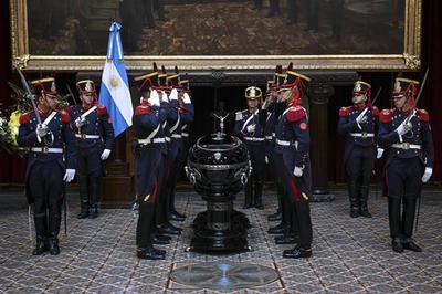 Le dieron el último adiós en el Congreso de Buenos Aires.