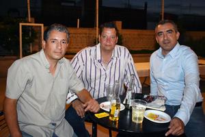 10072019 GRATA CONVIVENCIA.  Moisés, Rafael y Silvestre.