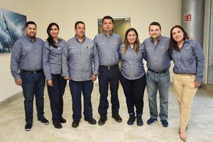 10072019 Carlos Herrera, Cecilia Rodríguez, Alejandro Vela, Francisco García, Cecy Reyes, José David Alba y Carmen Gutiérrez.