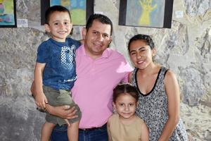 10072019 Guadalupe, Irma, Alexa, Marisol, Jesús y Andrea.