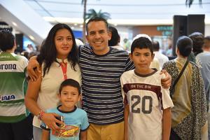 10072019 Claudia, Alberto, Mauricio y Alberto.