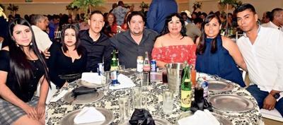 Familias García Altamirano, Gallegos Ortiz y Contreras Guerra.
