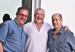 11072019 Ernesto Castro, Alejandro Rodríguez, Jaime Russek y Jaime  Murra.