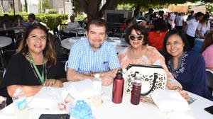 11072019 EN CONVIVENCIA.  Maricarmen, Omar, Raquel y July.