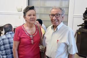 11072019 EVENTO CULTURAL.  Rosa María e Higinio.