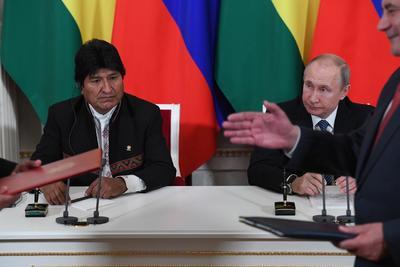 En la reunión, aseguraron que la intervención extranjera en los asuntos internos de Venezuela es inaceptable y manifestaron su confianza en que las negociaciones entre Caracas y la oposición sean fructíferas.