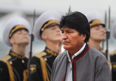 El presidente de Bolivia inició una visita oficial a la nación gobernada por Vladímir Putin.