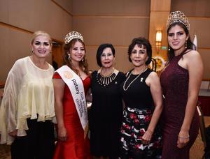 12072019 Vero Soto, Irma Mijares, Imelda Widin, Lucero Martínez y Carolina Espino.