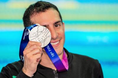 Aún le resta competir en la modalidad individual del trampolín de 3 metros, la prueba que es olímpica.