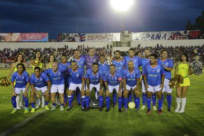 Excruzazulinos derrotan 3-2 a Exchivas en juego de exhibición.