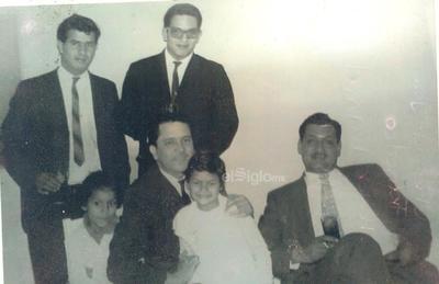 Chema, José María, Francisco, Héctor, Daniel y Julián en 1963.