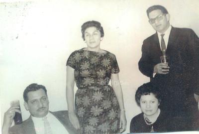 Sr. José María Salas Muñoz, Sra. Concepción Córdoba de Salas, Sr. Héctor Daniel Salas Muñoz y Sra. Juana María Rocha de Salas.
