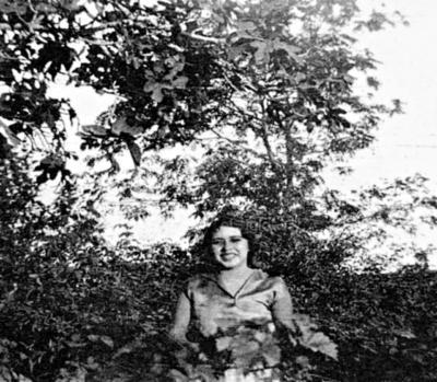 Antonia Cabral de Luna en 1931.