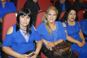 14072019 EN RECIENTE EVENTO.  Margarita, Conchita y Rosario.