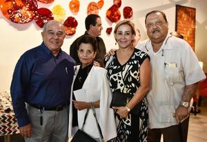 13072019 Ricardo y Cecilia Cisneros, Rocío y César Villalobos.
