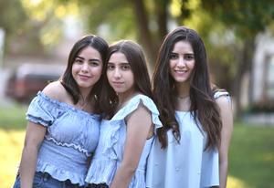 16072019 Sofi, Andrea y Mariana.