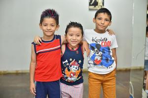 16072019 Santiago, Isaac y Jared.