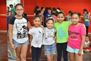 16072019 Valentina, Jimena, Saraí, Camila y Frida.